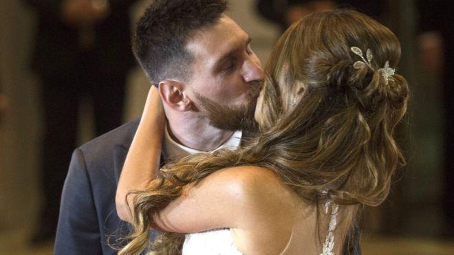 حفل زفاف ميسي الأسطوري