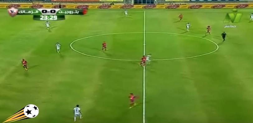اهداف الزمالك وبتروجيت 2-0 هدف معروف يوسف 27-6-2017