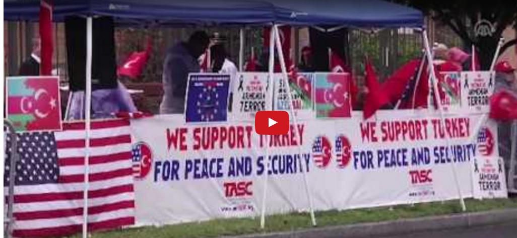 مظاهرتين مضادتين للأرمن والأتراك بواشنطن