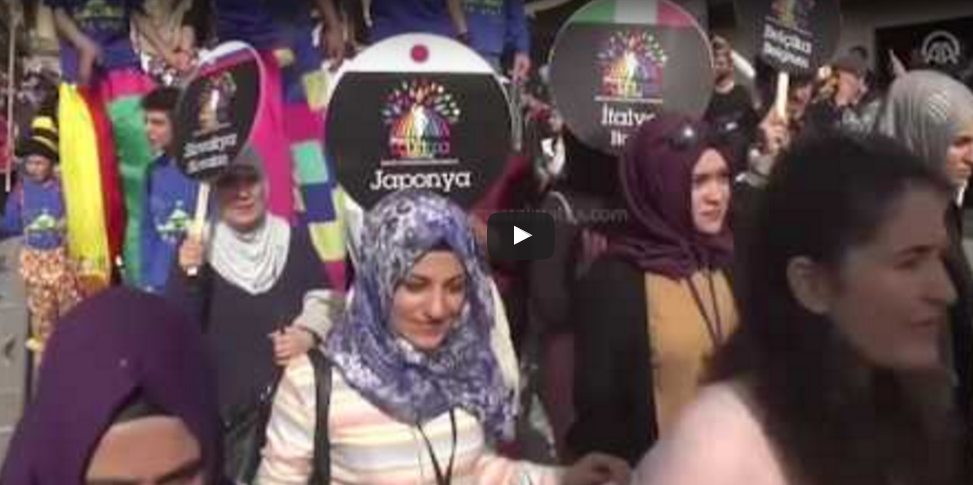 انطلاق مهرجان الطائرات الورقية في ماردين التركية
